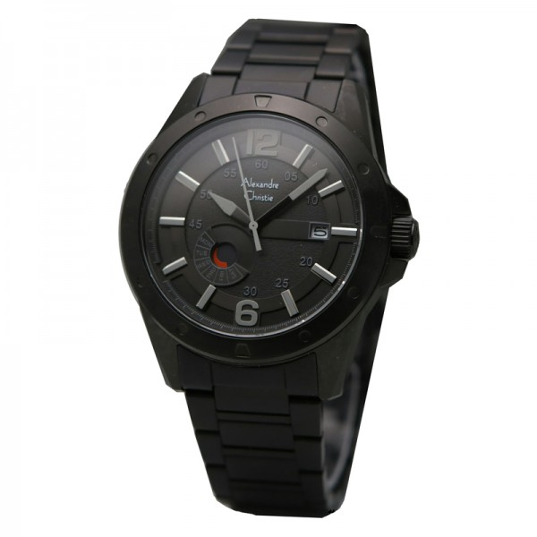 Alexandre Christie AC 6536 Full Black MEBIPBA