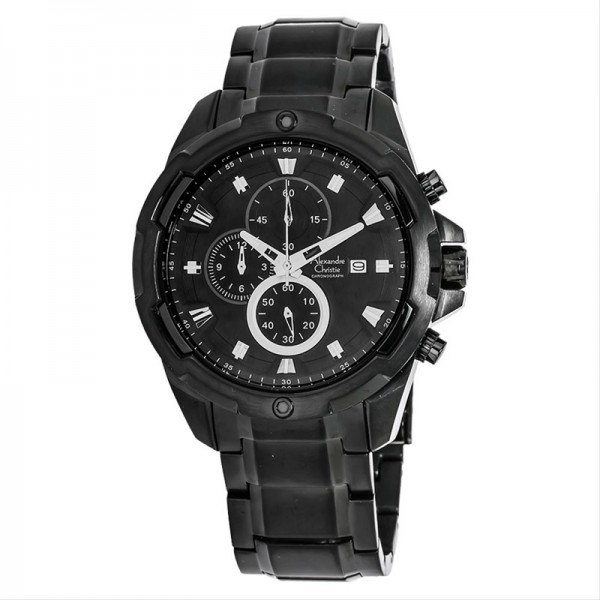 Alexandre Christie AC 6305 Full Black Man MCBIPBA