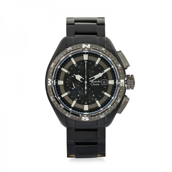 Alexandre Christie AC 6436 Black Grey MCBEPBA