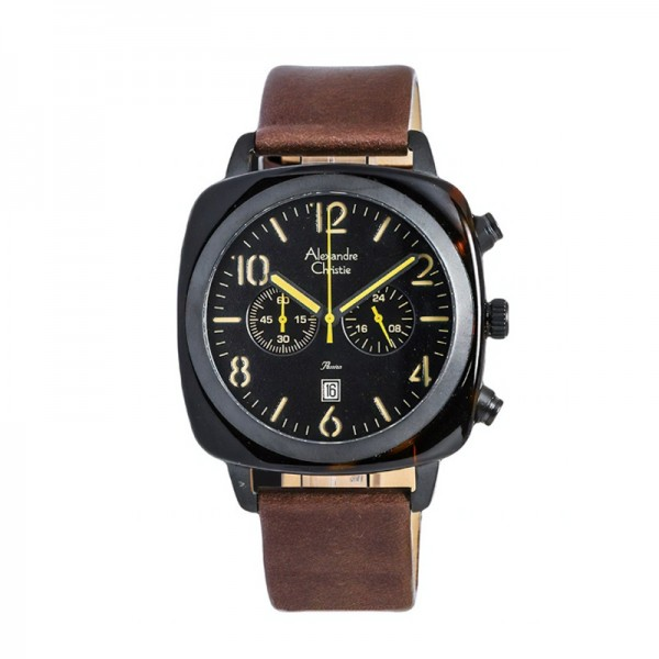 Alexandre Christie AC 6457 Black Brown MCLIPBABO
