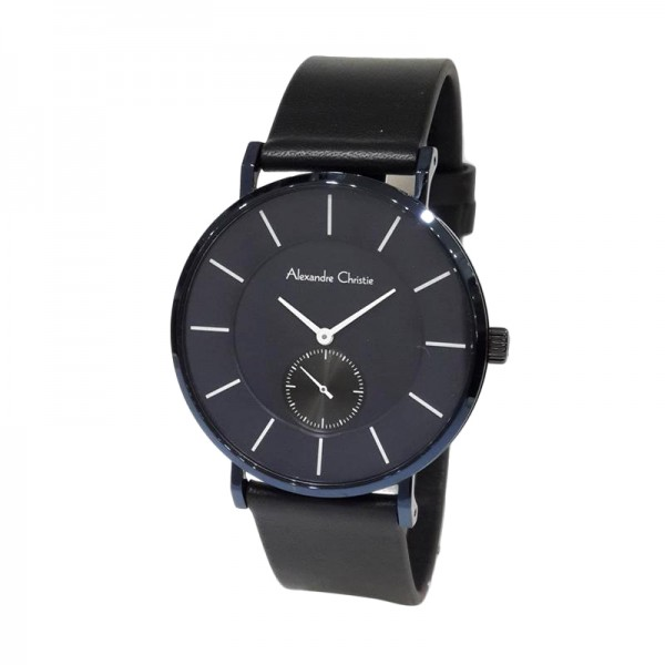 Alexandre Christie AC 8484 Black Blue Man MSLUBBU
