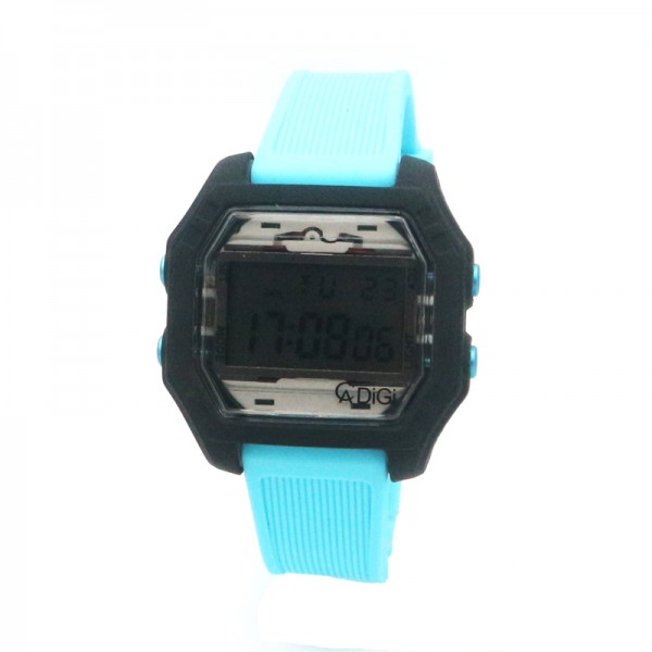 Alexandre Christie AC 9224 Black Light Blue Rubber MERSSBA