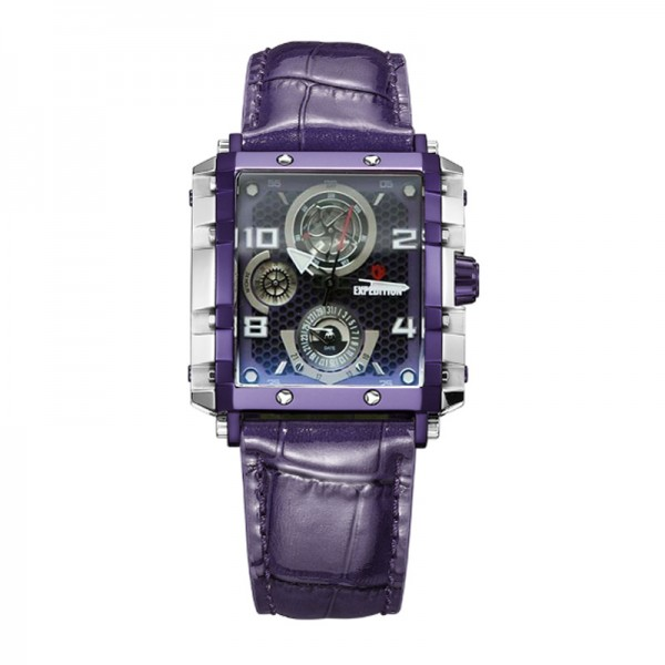 Expedition 6757 Silver Purple Leather Lady BFLTLPU