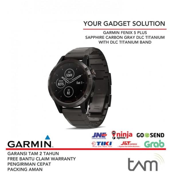 Garmin Fenix 5 Plus Carbon Titanium