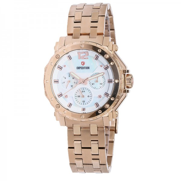 Expedition 6402 Rosegold White Chain Lady BFBRGSL