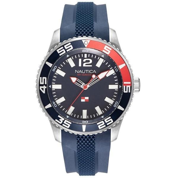 Nautica NAPPBP901 SIlver Blue