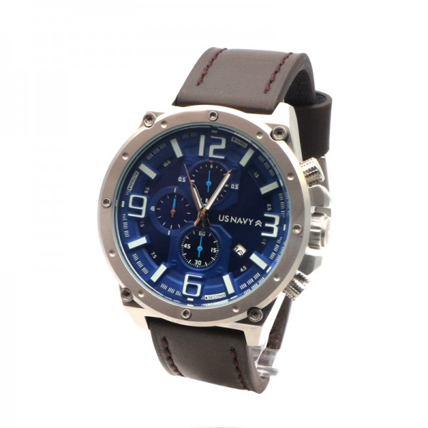 US Navy 83503MA Silver Blue White