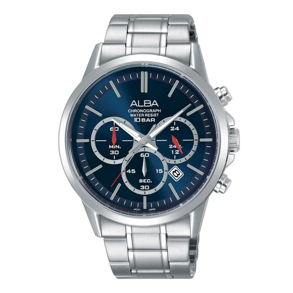 Alba AT3B91X1 Prestige Silver Blue