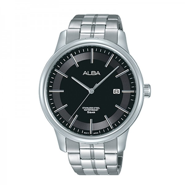 Alba AS9D17X1 Silver Black Man