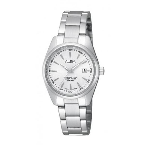 Alba AH7A27X1 Silver White Lady