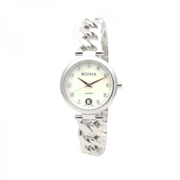 Bonia BNB10437-2357 Silver White