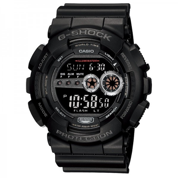 CASIO G SHOCK GD-100-1BDR