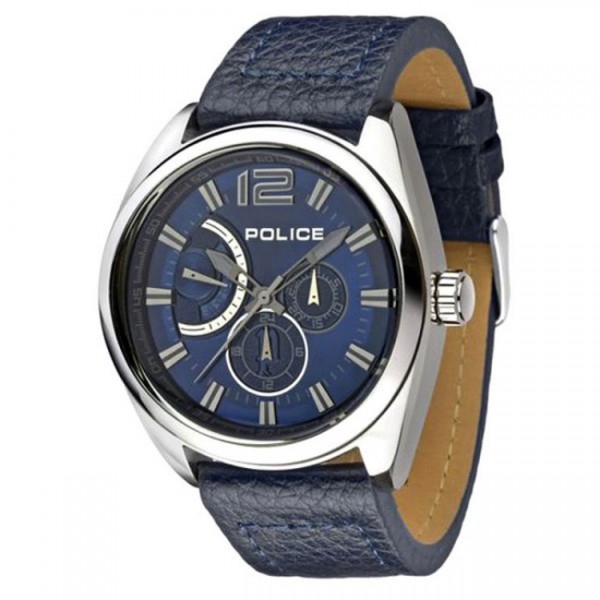 Police 14354 Silver Blue