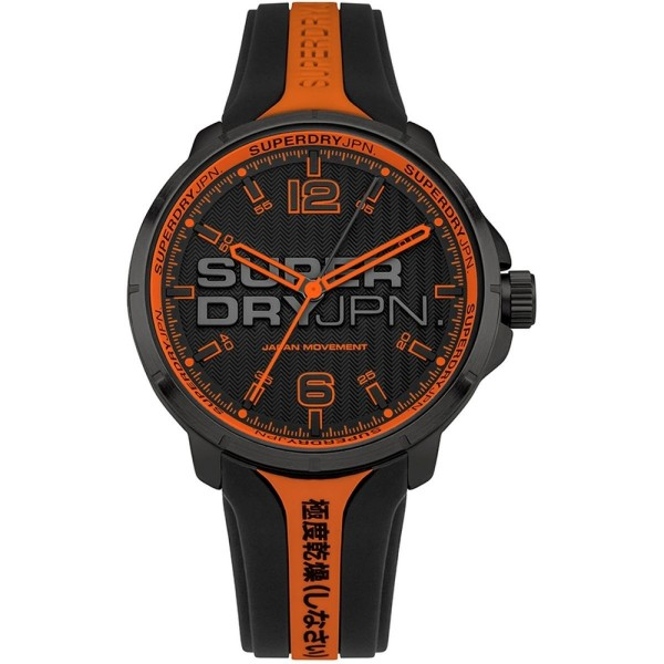Superdry SYG216BO Black Orange