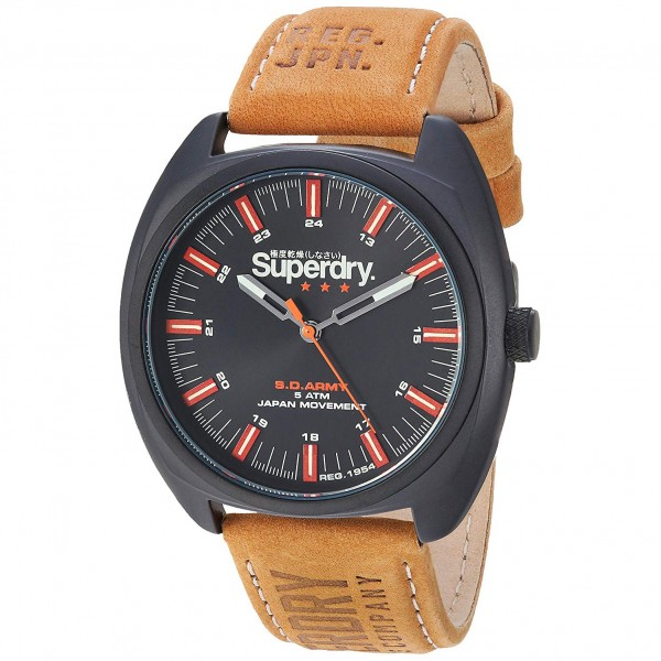 Superdry SYG228TB Black Brown