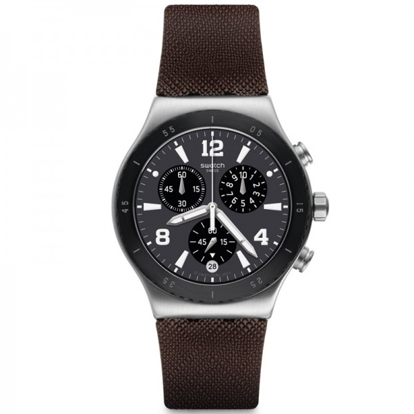 Swatch YVS450 Duo Brown
