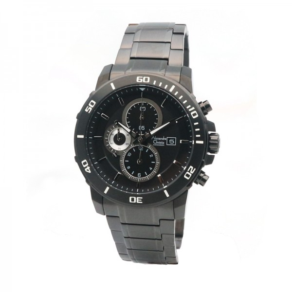 Alexandre Christie AC 6473 Full Black MCBIPBA